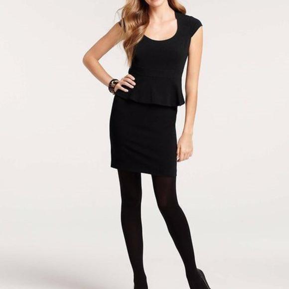 Ann Taylor Dresses Banded Cap Sleeve Peplum Dress Size 6 Poshmark